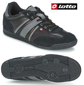 Scarpe-Uomo-sneakers-basse-LOTTO-GARY-VI-LTH-Suede-sintetico-ed-Ecopelle