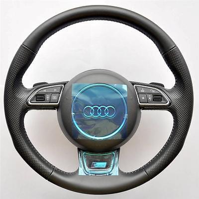 2018 Audi Linea S A3 S3 8v Q3 Rs A1 Volante Multifunzione Dsg Pagaie- Dolorante