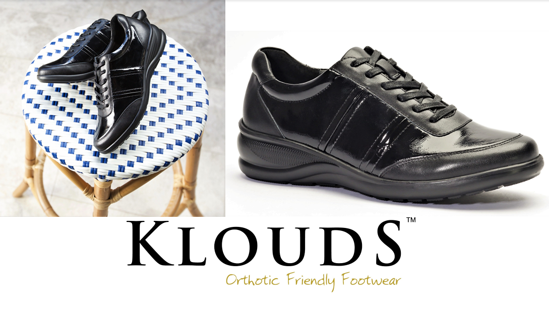 Klouds shoes - Orthotic friendly comfort leather lace up dress shoes - Becca