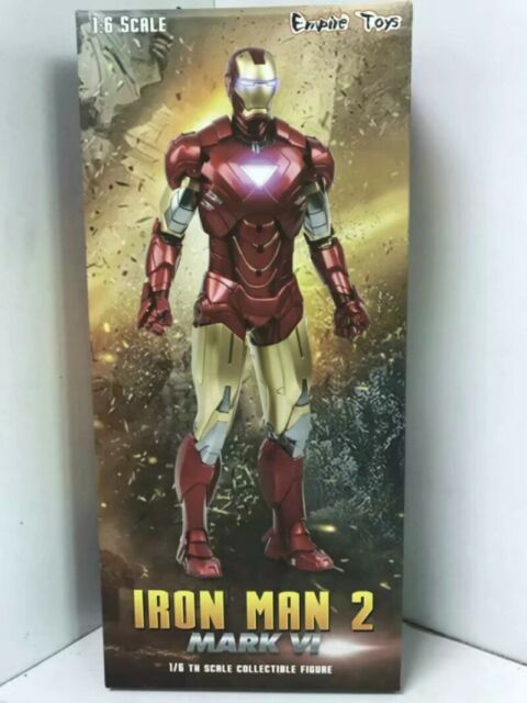 Avengers Marvel Hc Iron Man Mk6 1 6 Scale Collectible Auction Figure In Hot Box For Sale Online Ebay