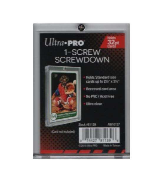 Ultra-Pro 1//4 inch 4-Screw Screwdown Holder Quantity of 25