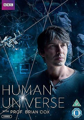 BBC Human Universe Complete TV Series (2014)  DVD Brian Cox New & Sealed R4