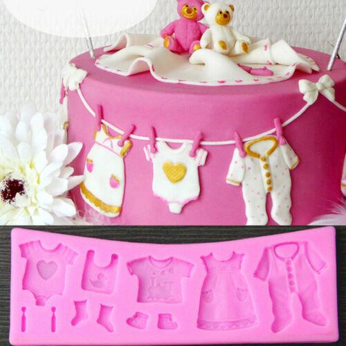 3D Silicone Fondant Cake Decorating Mould Chocolate Baking Mold Decor U5V8