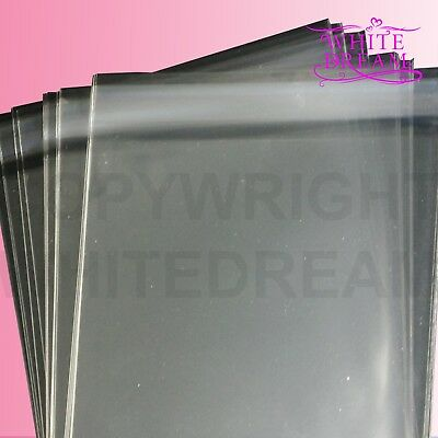 """Cellophane Display Bag Different Lengths Available 14/"""" x"""