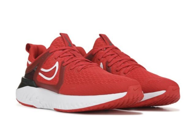 Men Nike Legend React 2 Running Training Shoes Sneaker University Red AT1368 600