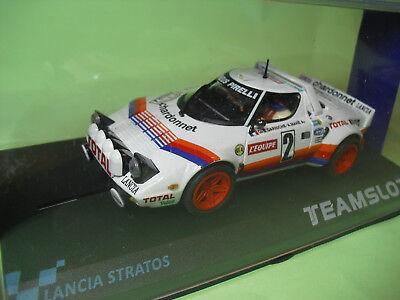 11513 Lancia Stratos Tour De Frace 1980 Neu Neu 1/32 100% Guarantee Kinderrennbahnen Team Slot Ref