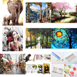 1x-Scenery-DIY-Digital-Oil-Painting-Kit-Paint-by-Numbers-on-Canvas-Home-Decor