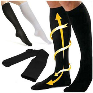 Travel-Flight-Unisex-Miracle-Socks-Compression-Anti-Swelling-Fatigue-DVT-Support