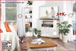 mexico m bel eckkommode eck tv tisch schrank kommode. Black Bedroom Furniture Sets. Home Design Ideas