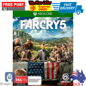 Xbox-One-X-Far-Cry-Farcry-5-Console-First-Person-Shooter-Game-Brand-New-Sealed