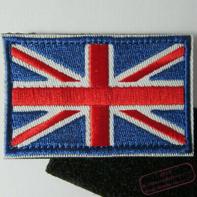 Patche écusson patch drapeau ecusson Union Jack Royaume Uni brodé thermocollant