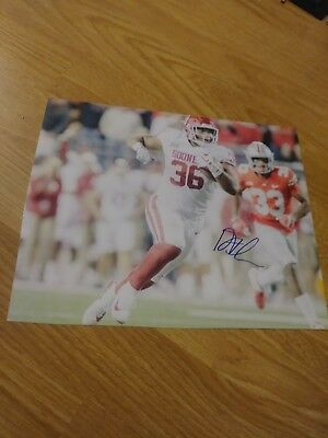 Dimitri Flowers Oklahoma Sooners signed 8x10 Photo NFL | eBay