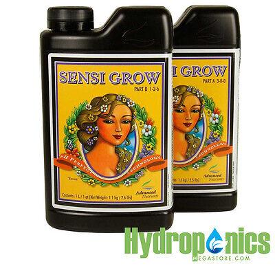 Advanced Nutrients pH Perfect Sensi Grow Part A And Part B 1 Liter Hydroponics