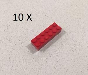 Baukästen & Konstruktion LEGO 2456 RED 2 X 6 BRICK VERY GOOD