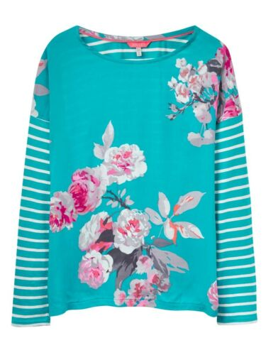 Emerald Beau Bloom Sizes UK 8-18 Joules Women/'s Bee Jersey Top