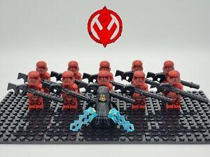 Star-Wars-Palpatine-Final-Order-Sith-Trooper-Army-Set-11-Minifigure-Lot-USA