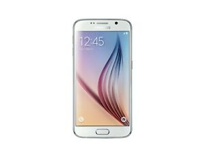 Samsung-Galaxy-S6-32-Go-Blanc-forte-remanence-excellent-etat