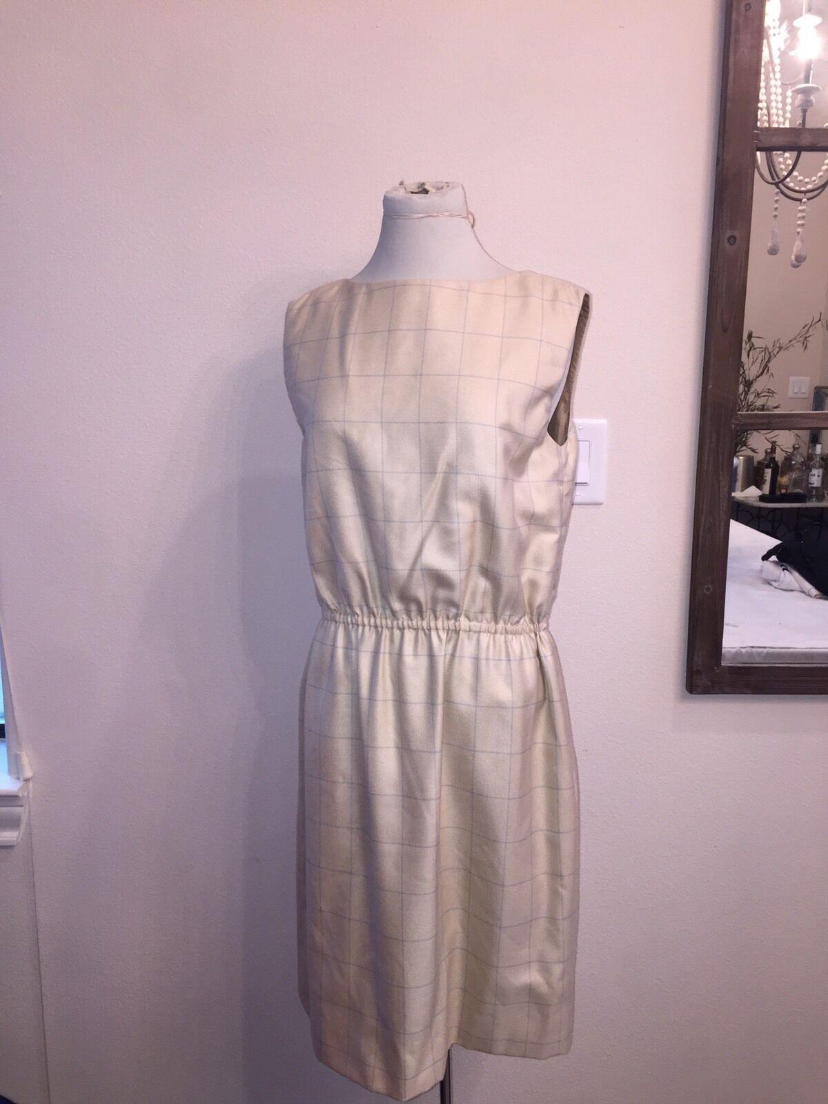 Bill Bill Bill Blass Neiman Marcus Tan  DRESS 12 6bfc81