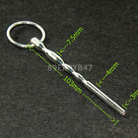 Urethral Sounds For Beginner Male Stainless Steel Plug Through-hole Dilator