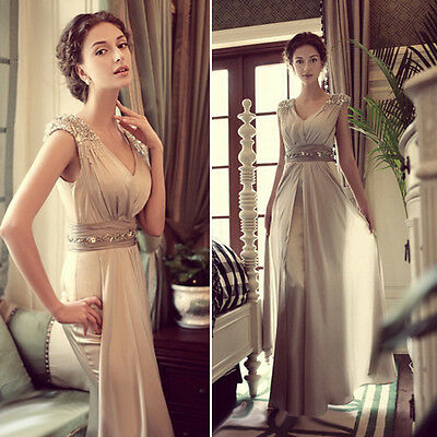 Superb Long Maxi Evening Formal Party Ball Gown Prom Bridesmaid Cocktail Dress