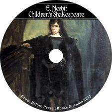 The Children's Shakespeare, Edith Nesbit Short Stories Audiobook on 3 Audio CDs