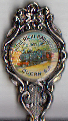 Quorn-SA-Pichi Richi Railway-T Class 186- Australia-Souvenir Spoon