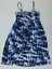 Aeropostale-Dress-Womens-XS-Blue-White-Floral-Knit-Removable-Straps-Good-Shape thumbnail 1