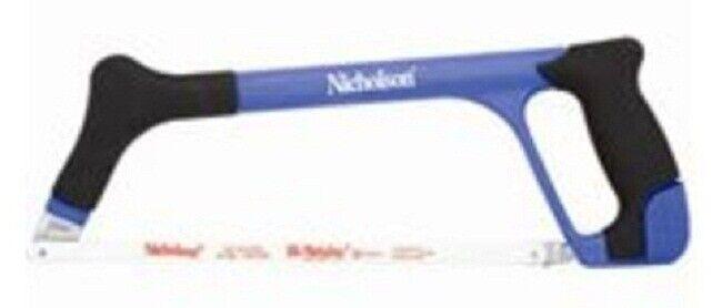 Nicholson HIGH TENSION HACKSAW 300mm With Comfortable Cushion Grip USA Brand