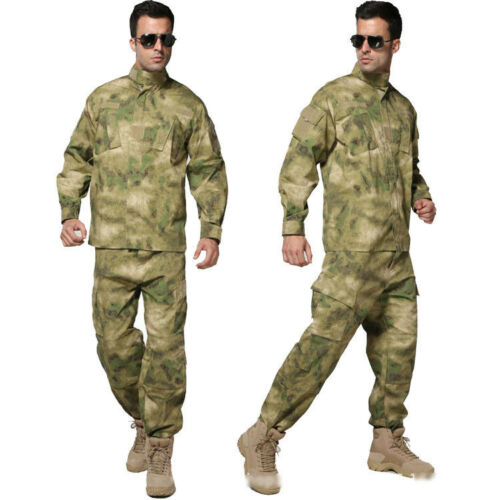 Airsoft Military Tactical Sets Special Force Combat Uniform Jacket/&Pants Suits