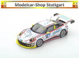 Porsche 911 Gt3 R #59 Manthey Racing 24h Nürburgring 2017 Spark 1:43 Sg324 Neuf