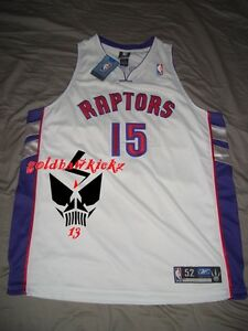 timeless design 7aae7 aeb72 AUTHENTIC REEBOK VINCE CARTER Toronto Raptors jersey 52 VC ...