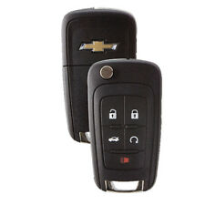 5 Button Chevrolet Remote Flip Out Key Fob With Remote Start Cruze Camaro Malibu Fits 2012 Chevrolet Cruze Lt