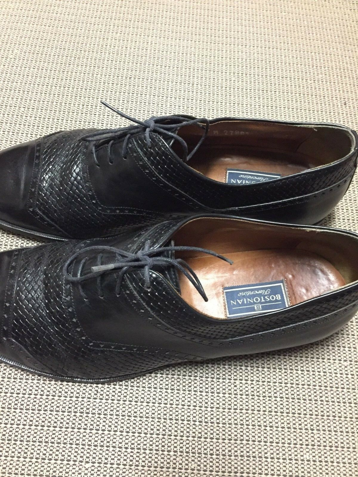 Gentleman/Lady Bostonian Men's Black Oxfords. Size 12 our Crazy price, Birmingham Let our 12 goods go to the world The first batch of customers' comprehensive specifications c23128