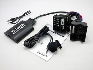 Bluetooth-Car-Adapter-Changer-Handsfree-Kit-For-BMW-40Pin-Radio-X3-X5-Z4-Z8-R5X