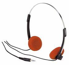 Vintage Headphone Foam Orange Color Great Prop for Guardians of Galaxy NEW