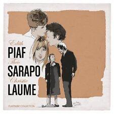 VARIOUS ARTISTS - EDITH PIAF/THEO SAPORO/CHRISTIE LAUMEIOU NEW CD