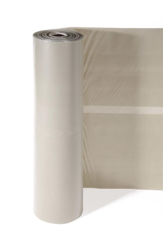 VERDELOOK Telo copritutto in PVC Robusto e Durevole in Rotoli Dimensioni 6x28 m
