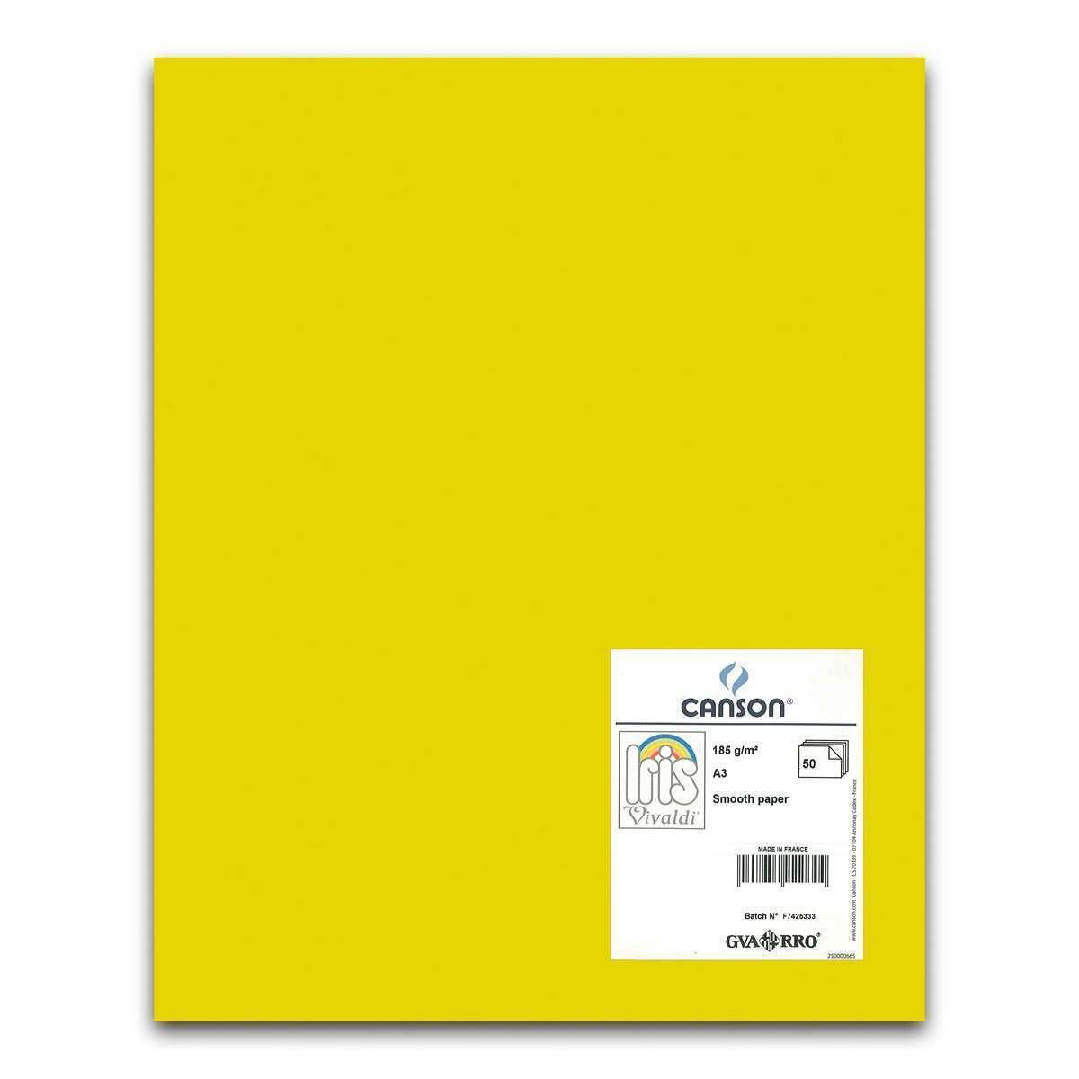 color naranja Canson Iris Cartulina 50 unidades