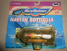 Micro Machines PACK SHIP IN A BOTTLE Power Boat LEGENDARY © Galoob GiG