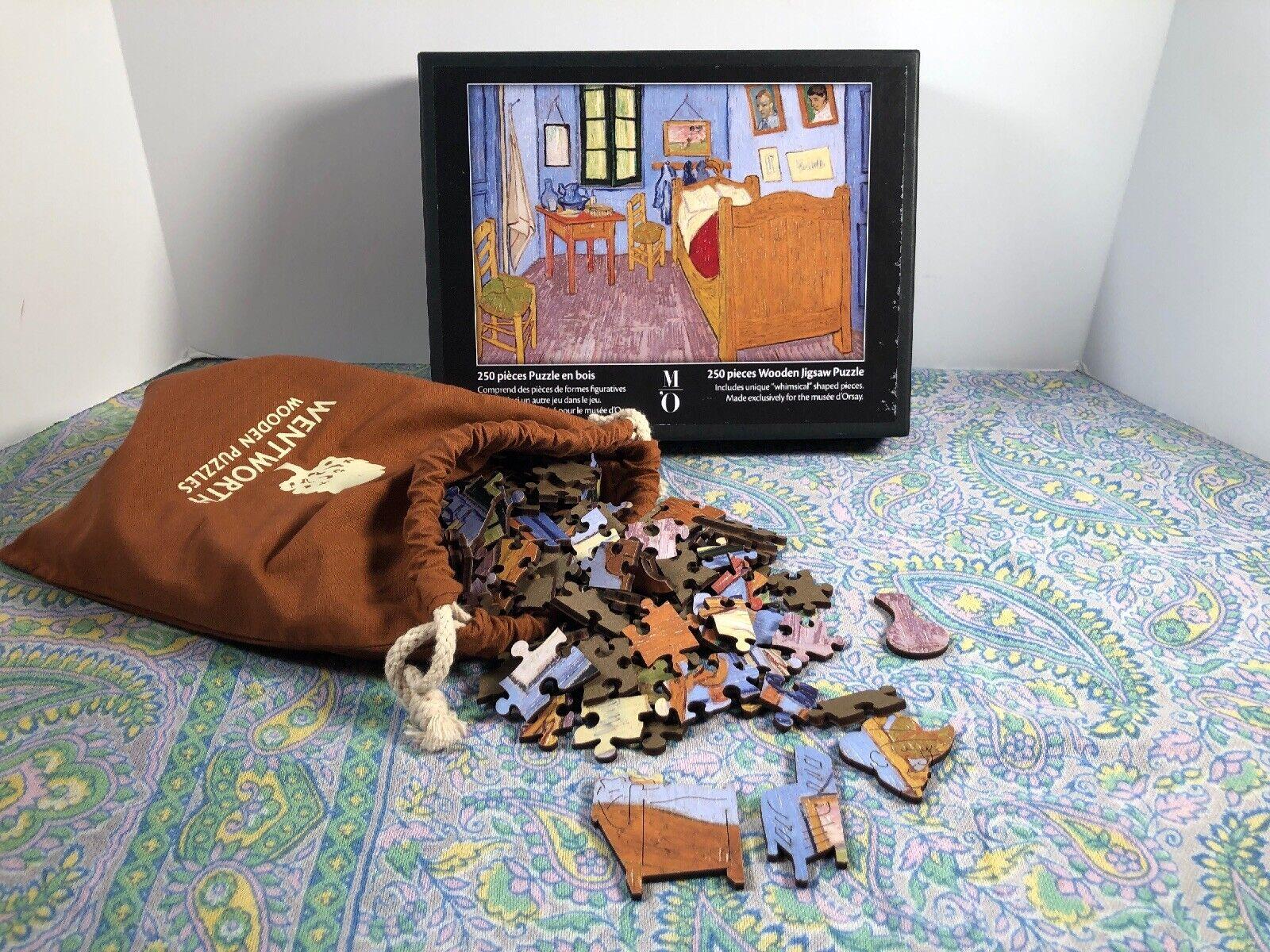 WENTWORTH WOODEN Puzzle  la chambre Van Gogh  MUSEE D'ORSAY 250x360mm  de Paquet