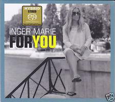 """""""Inger Marie Gundersen - For You"""" Audiophile Female Vocal Hybrid Stereo SACD New"""
