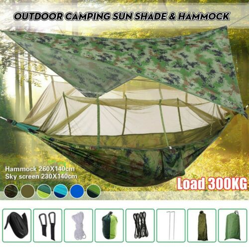 Mosquito Net 2 Person Camping Hammock Easy to Set up For Outdoor Lightweight