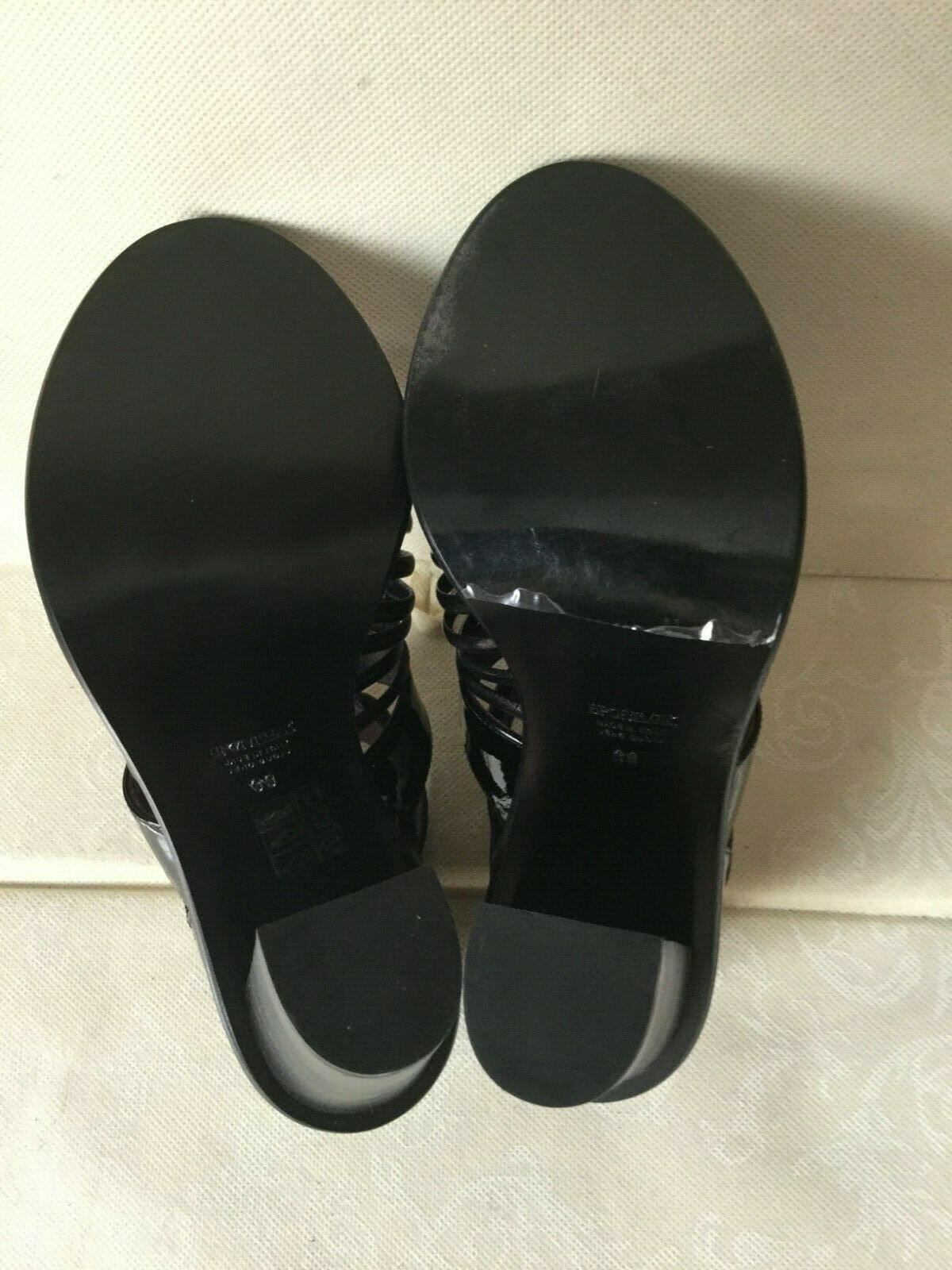 Fantastic sandals sandals sandals SPORTMAX Donna, nero, Dimensione 39, leather  Sandali Donna, pelle 981ef9