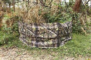 Portable Hunting Blind Roll Up Run N Gun Turkey Duck Deer Camouflage Screen Hunt