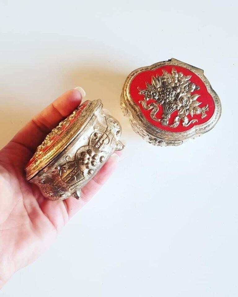 Smykkeskrin, andet materiale