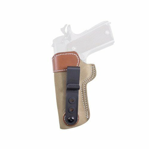 Desantis Sof-Tuck Holster for P35//1911 Gun Right Hand Natural Suede