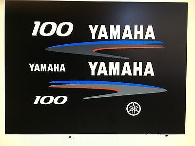 Marine Vinyl Yamaha Outboard Motor sticker Decal sticker Kit 20 hp