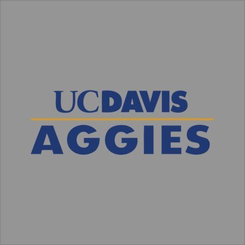 California Davis Aggies # 3 Ncaa College pegatina de Vinilo calcomanía auto Ventana Pared