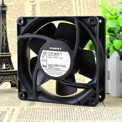 Original PAPST TYP4650N 220V 50Hz 18W full metal heat-resistant cooling fan