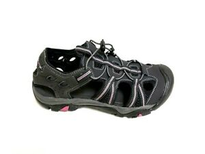 a158f25f7 NEW! Women s Outland Solstice II River Sandals –Black Pink 111o am ...